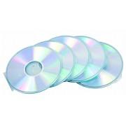 CD-tok, vékony, 1 lemez, kör alakú, FELLOWES, átlátszó (IFW98342)