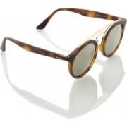 Ray-Ban Round Sunglasses(Golden)