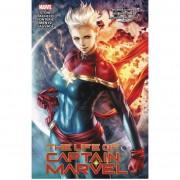 Turnaround Comics Novela gráfica La vida de la Capitana Marvel (tapa blanda)