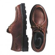 Leisure Elk Leather Shoes, 9.5 - Brown