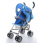 Carucior EURObaby Sorento Comfort - Albastru Inchis