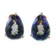 Cercei Topaz Mistic Natural Rainbow 3 8 carate