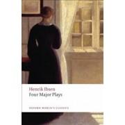 Four Major Plays: A Doll's House/Ghosts/Hedda Gabler/The Master Builder, Paperback/Henrik Ibsen