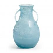 La Forma Vaas Tilbund blauw glas (32 cm hoog)