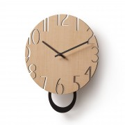 Kave Home Reloj de pared Peters
