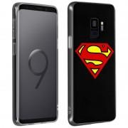 dc-comics Capa DC Comics Silicone Logo Superman para Samsung Galaxy S9
