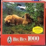 Big Ben 1000 Piece Jigsaw Puzzle Kodiak Island, Alaska