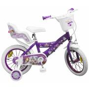 Bicicleta pentru fetite Sofia the First 14 inch