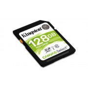 Memorija SDHC 128GB Kingston Canvas SDS/128GB, Class 10, UHS-I Secure digital