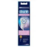 EBS17X3 Braun Oral-B SENSI 3db fogkefe pótfej