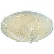 Plafonier elegant diam.25cm, cristale K5, LED Elisa 40415-8 GL