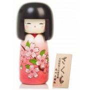 Japonská panenka Kokeshi Sakura 16 cm