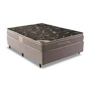 Colchão Herval Molas Pocket Millenium Black Bambu - Colchão King Size - 1,93x2,03x0,25 - Sem Cama Box
