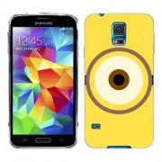 Husa Samsung Galaxy S5 Mini G800F Silicon Gel Tpu Model Big Eye Minion