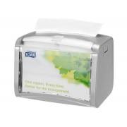 Tork Xpressnap® Tabletop, dispenser grijs, N4 Signature Line (272613)