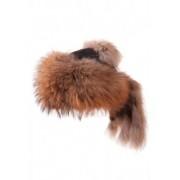 Шапка от лисица с опашка