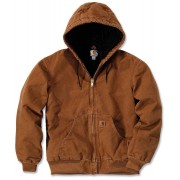 Carhartt Quilt Flannel Lined Sandstone Active Chaqueta Marrón XL