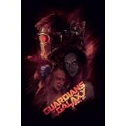 Strażnicy Galaktyki vol. 2 Bohaterowie - plakat premium