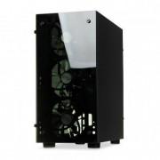 Carcasa IBOX MINI TOWER PASSION V4 GAMING OPV4 (Micro ATX black color)