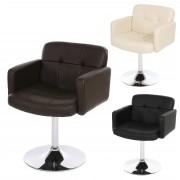 Relaxsessel Loungesessel Drehstuhl Sessel Orlando Kunstleder Chrom ~ Variantenangebot