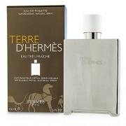 HERMES TERRE D'HERMES EAU TRES FRAICHE EDT 150 ML BEL OBJET METAL REFILLABLE EDITION