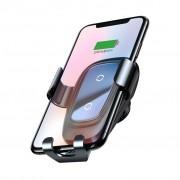 Baseus Trådlösa Laddare Gravity Bilhållare Till Smartphones, Black