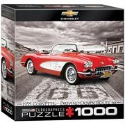EuroGraphics 1959 Corvette Jigsaw Puzzle (Small Box) (1000-Piece)