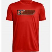 Boys' UA Lenticular Duo Logo Short-Sleeve T-Shirt