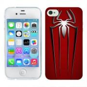 Husa iPhone 4S Silicon Gel Tpu Model Spiderman