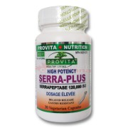 Serra Plus - Serrapeptaza Provita Nutrition 120.000 UI 30 capsule