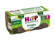Hipp Gmbh & Co. Vertrieb Kg Hipp Bio Omogeneizzato prugna e mela 2 X 80g