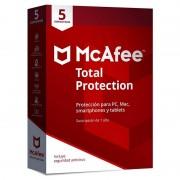 McAfee Total Protection 5 Dispositivos 2018