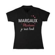 YourSurprise Polo personnalisé - Femme - Noir- XXL