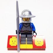 "Minifigure Packs: Lego Castle Bundle ""(1) Kings Knight"" ""(1) Figure Display Base"" ""(1) Figure Accessory"""