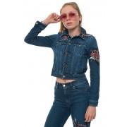 Red Valentino Giubbino in jeans Denim medio Cotone Donna