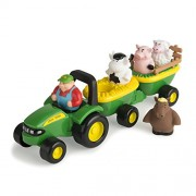 Tomy Ertl John Deere Animal Sounds Hay Ride