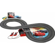 Circuit electric masinute Fulger McQueen si Jackson Storm Cars 3 Carrera First 2 4 m