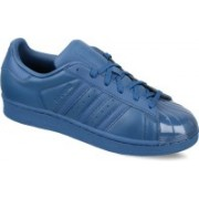 ADIDAS ORIGINALS SUPERSTAR GLOSSY TOE W Sneakers For Women(Blue)