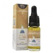 CannaMed.fr Huile de CBG 5% (Cannabigerol) + CBD 2,5%