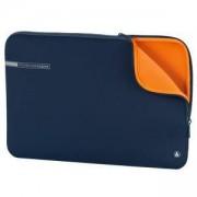 Калъф за лаптоп HAMA Neoprene, до 17.3 инча (44 cm), син, HAMA-101555