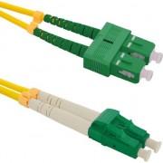 Cablu qoltec Optic Patchcord SC/APC - LC/APC SM 9/125 G652D 3m (54037)