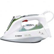 Fier de calcat Bosch cu abur, 2400w, alb cu verde