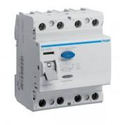 Intreruptor diferential 4P 80A, 30mA, A Hager CD480D (HAGER)