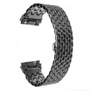 Bandas Fitbit iónico Replacet reloj del metal de la correa de