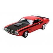 1970 Dodge T/A Challenger Orange 1/24 by Welly 24029