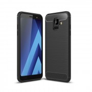 Carcasa TECH-PROTECT TPUCARBON Samsung Galaxy A6 (2018) Black