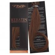 Poze Standard Keratin Extensions Mocha Brown 7BN - 50cm