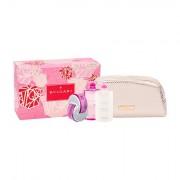 Bvlgari Omnia Pink Sapphire confezione regalo eau de toilette 65 ml + lozione corpo 75 ml + doccia gel 75 ml + trousse Donna