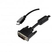 Noname DVI-D (Single Link) - HDMI kábel 1m 51579