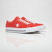 Converse One Star Ox In Red - Size 43